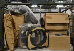 Vehicle Cushions, Covers, Plastic Container with lids