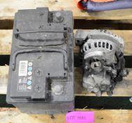 Citreon Picasso Car battery, Alternator 2.9 Kia Sedona