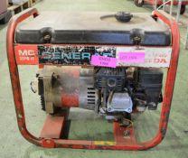 Generac MC 3000FF generator - Honda engine