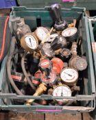 Welding gas regulators - as spares or repairs