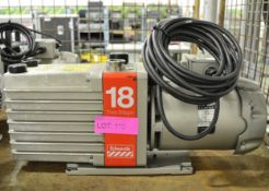 Edwards Two Stage 18 vacuum pump - no plate