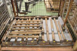 20x Sledge Hammers