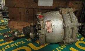 Ex MoD Truck Air Brake Vacuum Chamber