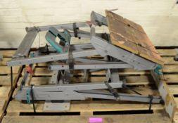 2x Adjustable Work Benches