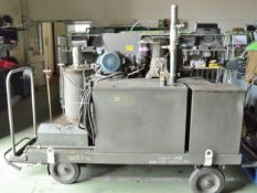 Oil Grease & Air Mobile Servicing Trolley L 2600mm x W 1400mm x H 1800 mm