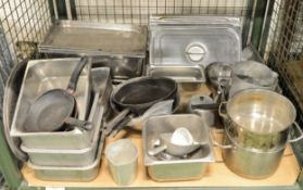 Catering Equipment - Pots, Pans, Mixing Bowls