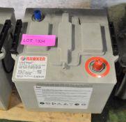 Hawker UK6TNMF 6 Cell Lead Acid Battery 12v 110Ah