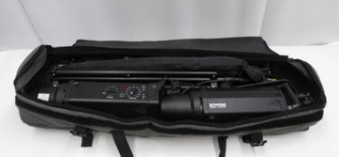 Bowens Studio Lighting Kit - 2x Gemini GM1000PRO Heads & accessories