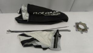 Elinchrom 1m x 1m softbox attachement for studio light in carry bag