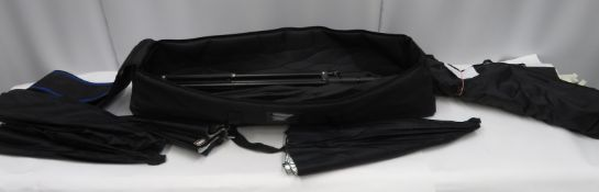 Various accessories in carry bag (see description)