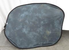 Lastolite pop up reversible background, grey / blue, 1.8m x 1.5m in carry bag