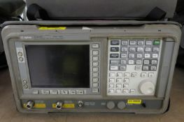 Agilent E4402B 100Hz - 3GHz spectrum analyzer