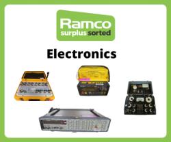 Ramco Electronics Auction - Brands Include - Marconi, Farnell, Fluke, Rohde & Schwarz, RACAL, Hewlett Packard, Tektronik, Agilent