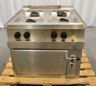 MKN 2063404S 4 Gas Burner Range Cooker.