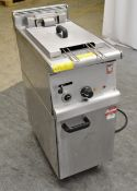Falcon G35/61 Electric Double Fryer Single Phase.
