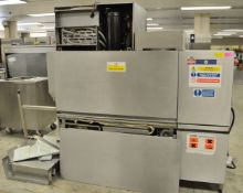 Hobart CN-E-A 400V 16.9kW Through Dishwasher 2000mm with Take Off Tables.
