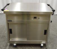 Lincat WEE/FG0049TZ 1500W Mobile Heating Cupboard W1050mm.