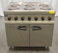 Lincat ESLR9C 6 Plate Electric Oven Range 3 Phase 16.5kW.