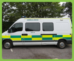 2006 Renault Master Ambulance - Excellent Condition Privately Used With Genuine Low Mileage 44072. MOT Till Feb 2021.