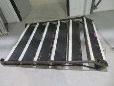3ft Steel deck tread. 3ft rise 4ft wide,