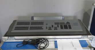 ETC Express 24/48 lighting control console with flightcase. Working Condition.