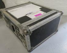Rackcase. Dimensions: 54x66x31cm (LxDxH)