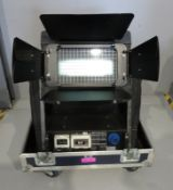 Studio Due City Colour 2500 Wash in flightcase. Working condition. Hours: 1332.