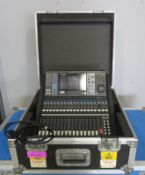 Yamaha LS9-16 Digital mixing console/sound desk with flightcase. Working condition.