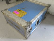 Rackcase. Dimensions: 50x64x27cm (LxDxH)