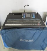 Yamaha LS9-32 Digital mixing console/sound desk with flightcase. Working condition.
