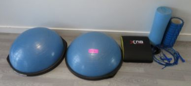 Various Studio/Gym Equipment. See Pictures For Contents.