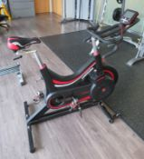 Watt Bike Trainer Exercise Bike Complete With Model B Digital Display Console.