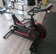 Watt Bike Pro Exercise Bike Complete With Model B Digital Display Console. Good Working Condition.