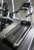 Cybex Treadmill Model: 625T, Working Condition With TV Display Monitor.
