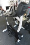 Cybex Upright Bike Model:770C, Working Condition With TV Display Monitor.