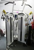 Cybex Bravo (Cable) Model: 8810. 38.6kg Weight Stack. Complete With Attachments.