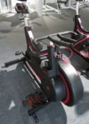 Watt Bike Trainer Exercise Bike Complete With Model B Digital Display Console.