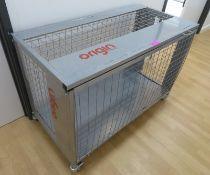 Origin Fitness Storage Cage. Dimensions: 140x70x95cm (LxDxH)