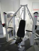Cybex Chest Press Model: 12001. 103.5kg Weight Stack. Dimensions: 140x135x195cm (LxDxH)