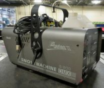 Antair S 200 Snow Machine & DMX Controller.