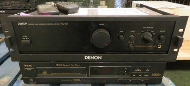 Denon PMA-100M Amplifier with Remotes.
