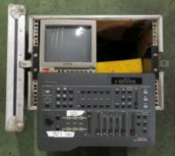 Yamaha Analogue Vision Mixer & Panasonic CRT Monitor in Flight case, Case size L520xW370xH