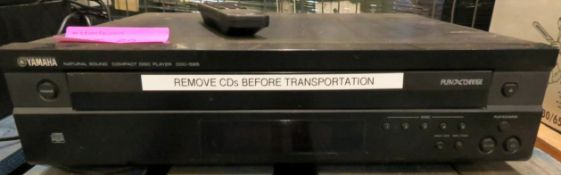 Yamaha CDC-585 Multi-CD Player.