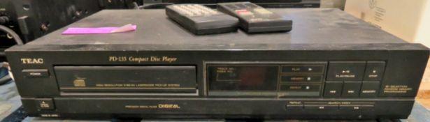 JVC Teac PD-135 Compact Disc Player.