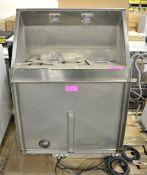 Ventilation / Extractor 60.72.203 W850mm