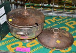 EPNS Soup Tareen, spare lid