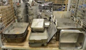 Catering- Various Pots + Baking Pots