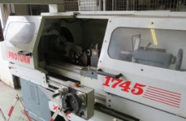 Proturn1745 Lathe - Proto Trak LX2 CNC control panel
