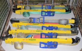 3x Weber-Hydraulik Stab-Fast Stabilisation Unit Sets