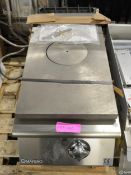 Mareno MNS94G Solid Hotplate W400 x D900 x H300mm
